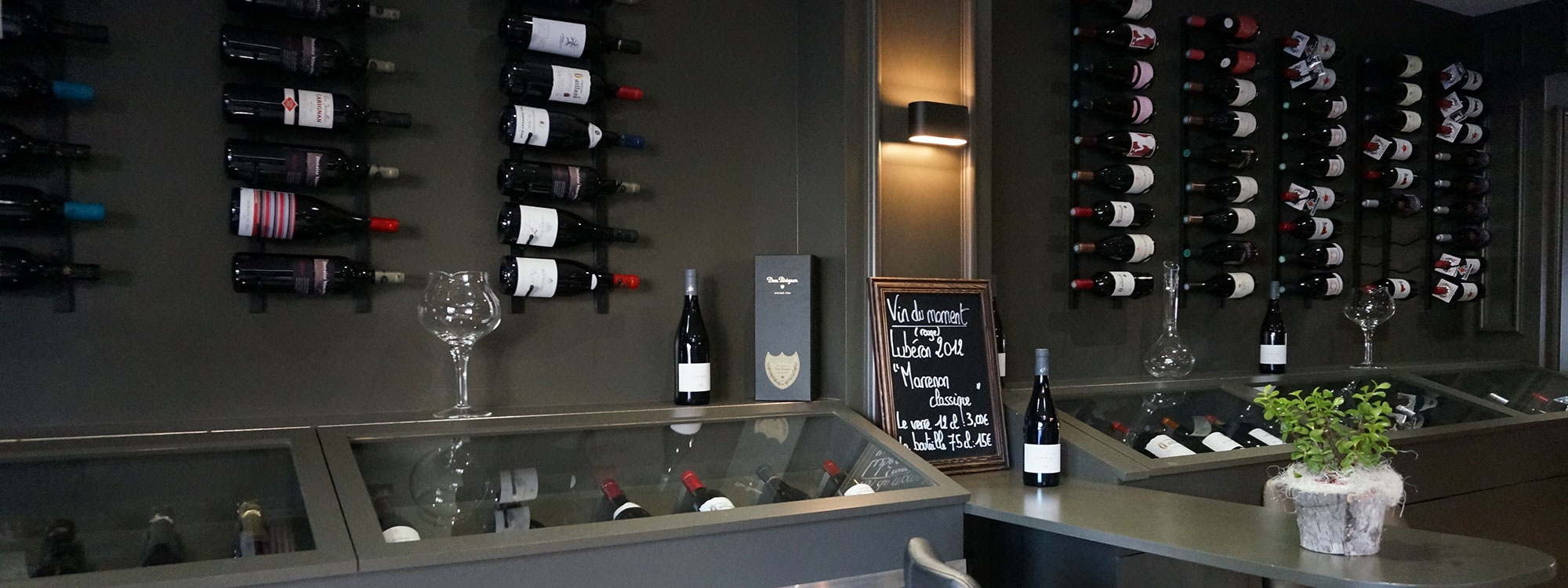 Un large choix<br/>de vins