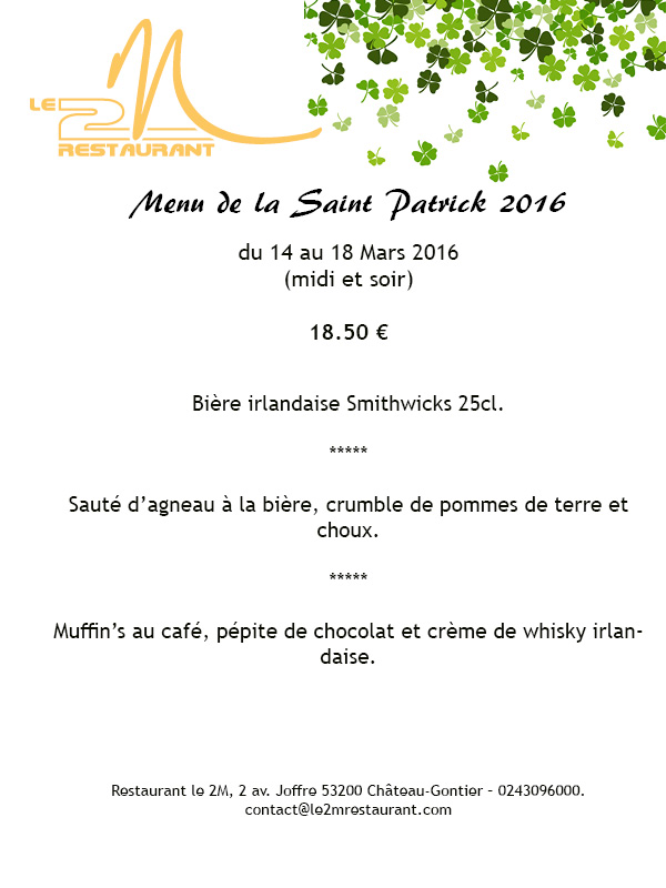 Menu St Patrick_mar16