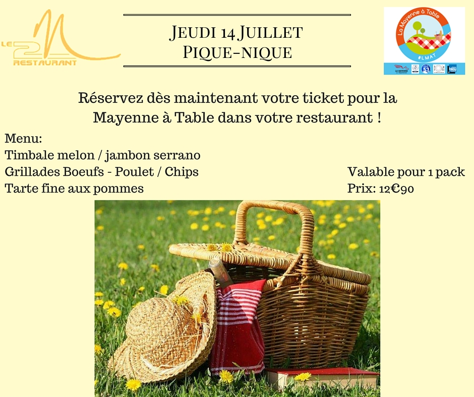 la Mayenne à Table