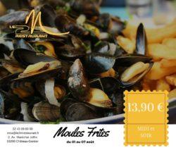 Moules - Frites 13.90 € midi et soir